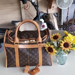 Louis vuitton vintage handcarry travel bag